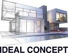 Rénovation Maison Appartement Salle de Bain Cuisine – Ideal Concept Logo